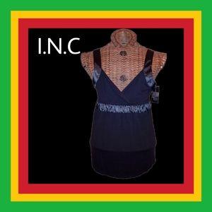 I.N.C. BLACK BABYDOLL🇪🇹BUY 1 GET 1 FREE EVERYTHING🇪🇹